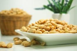 Erdnüsse mit hohem Arginingehalt
